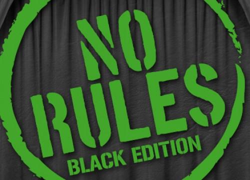 NO RULES *BLACK EDITION * @ MINT