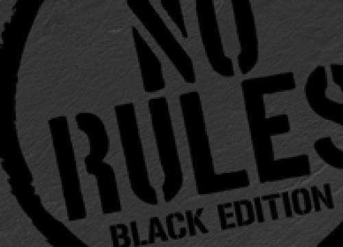 NO RULES BLACK EDITION @ iROOM