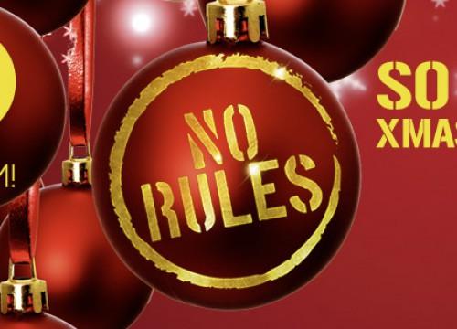 NO RULES CHRISTMAS EDITION @ IROOM