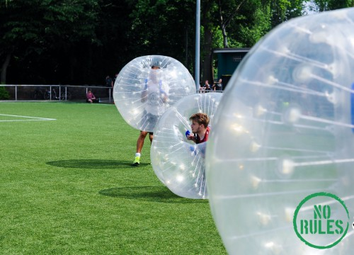 26.05.2016 No Rules Bubble Football