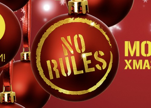 No Rules xmas Edition @ iROOM