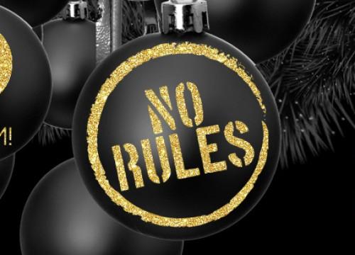 No Rules xmas Edition @ iROOM